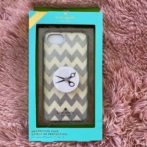 Kate Spade phone case 8,7,6s,6 with pop socket